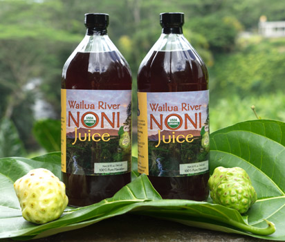 Kauai Grown member Wailua River Noni